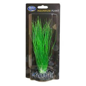 BETTA Plastic Green Plant for Aquarium, 20cm