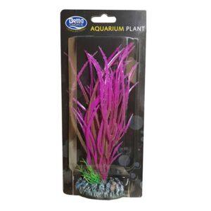 BETTA Plastic Pink Plant for Aquarium, 20cm