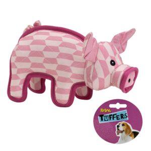 TUFFERS Pig Dog Toy