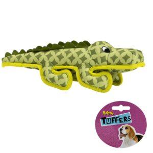 TUFFERS Crocodile Dog Toy