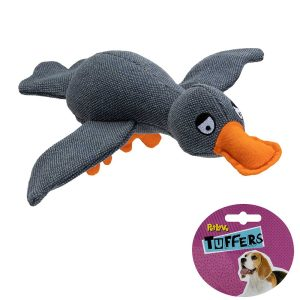 TUFFERS Goose Dog Toy