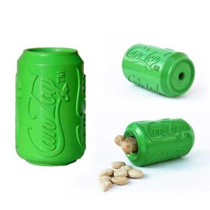 SODAPUP Can Toy & Treat Dispenser, Green